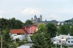 Brückenzollhaus und Kloster Münsterschwarzach